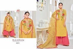 Collar Neck Garara Salwar Suit