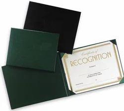 Award Certificate Holder