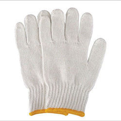 Hand Gloves Cotton Knitted