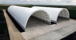 Tensile Membrane Structures For Modular Industrial Construct