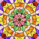 Coloured Stained Glass