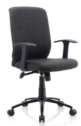 City Ergonomic Chair in Black Color by Oblique