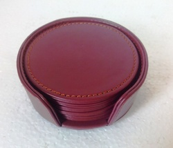 Coaster's Leatherette