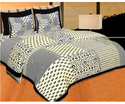 Lotus Classic Cotton Double Bed Sheet