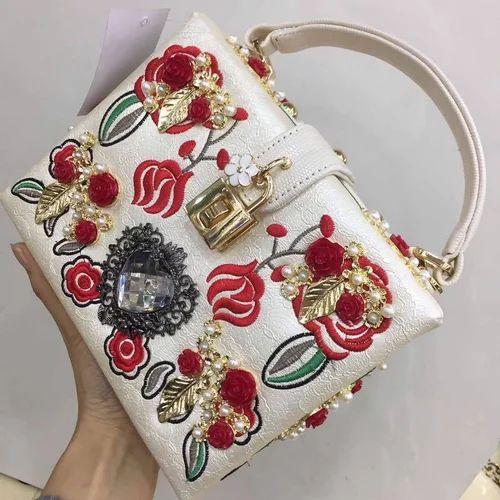 209d5df841e Ladies Hand Bags - Ladies Designer Hand Bags Manufacturer from Jaipur