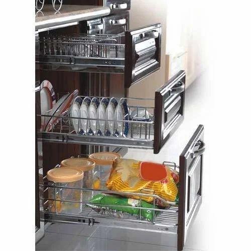 Modular SS Kitchen Rack Manufacturer From
