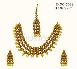 Traditional Indian Wedding Necklace Set