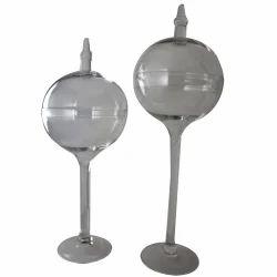 Crockery Glass Jar