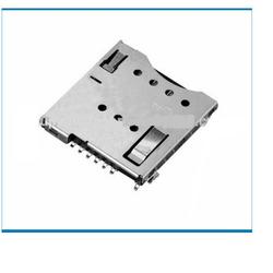 MUP-C792 6 Pin Micro SIM Card Connector (Push-Push Lock Type)