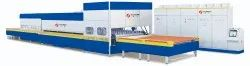 HORIZONTAL ROLLER HEARTH REVERSING FLAT AND BEND GLASS TEMPERING LINE