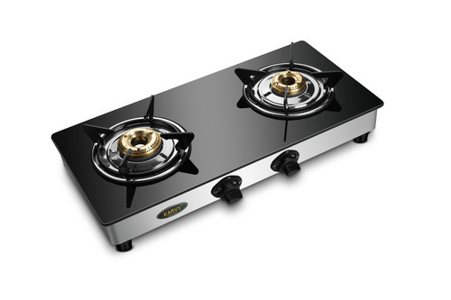 Double Burner Glass Top Stove   2 Burner Glass Top Cook Top Manufacturer  From New Delhi