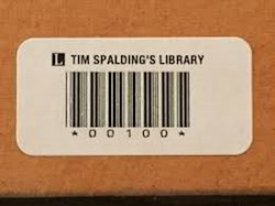 Barcode Stickers for Books