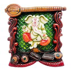 Lord Ganesha Colorful Wall Hanging Statue Decorative Gift