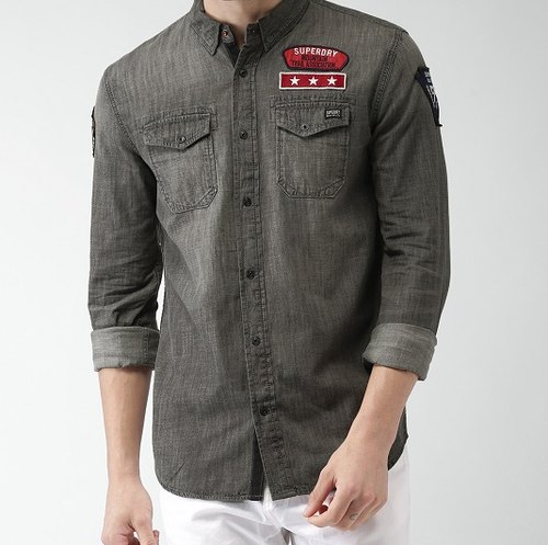 49328abee545 Superdry Men Shirts - Superdry Men Shirts Latest Price