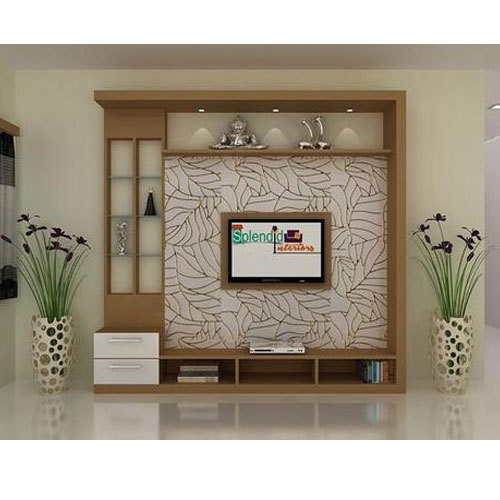 Pvc L Shape Modern Modular Kitchen Rs 850 Square Feet: Modern TV Unit Manufacturer From Visakhapatnam