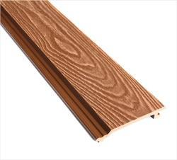 WPC Facade Cladding (Wood Grain Finish) - Walnut