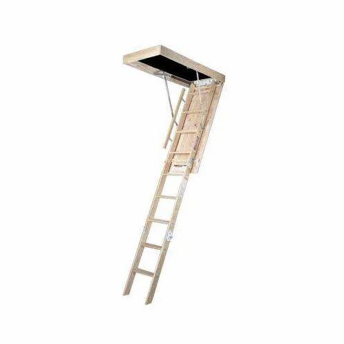 Loft ladder  sc 1 st  A To Z Traders & Aluminium Ladder - Self Support Extension Aluminum Ladder ...