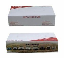 Custom Printed Cardboard Tissue Box