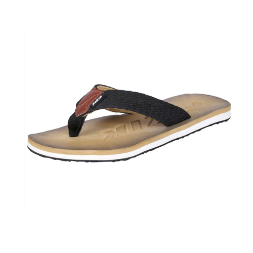 82e24f7d3 Gents Flip Flops - Beige Black Rubber Flip Flop Manufacturer from ...