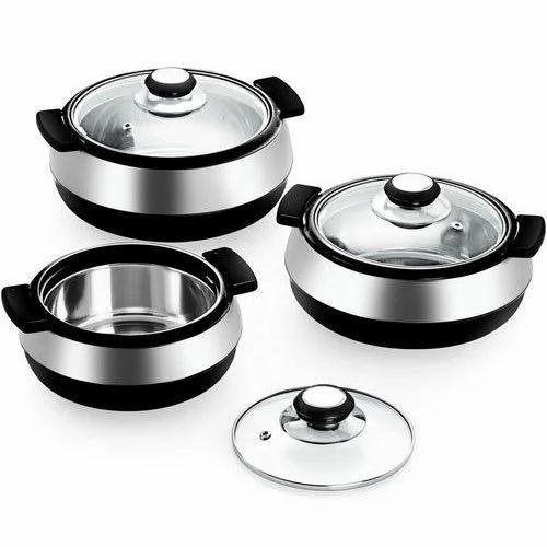 921c47a8ad6 Casserole Set - Stainless Steel Casserole Set Wholesaler from Chennai