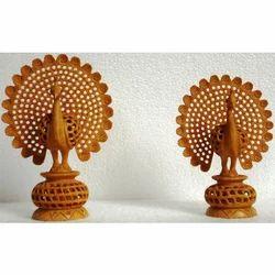 Wooden Handicraft Peacock
