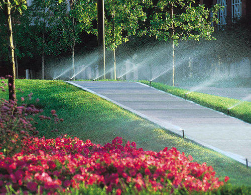 Automation In Landscape Irrigation System.