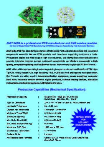 PCB Circuit and LED Bulb Manufacturer | Amit India NamePlates (P