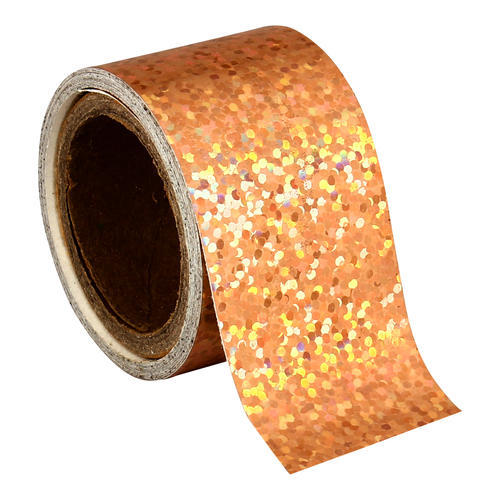 Golden holographic  hula hoop tapes