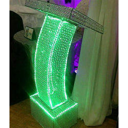 Decorative Wedding Crystal Pillar