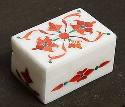 Stone Inlay Jewellery Box