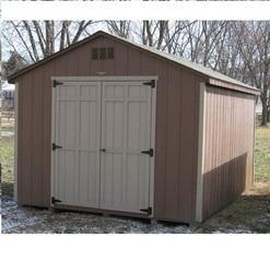 Prefabricated Storage Shed. Ask For Price