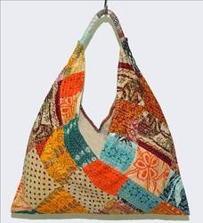 Vintage Kantha Indian Hand  Bag
