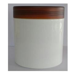 Tr Brown Cap SE 600 White Jar