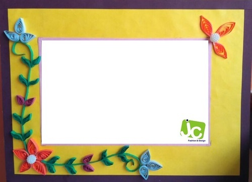 photo frame - Quilting Photo Frame Manufacturer from Surat