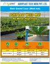 Weed Mat Black 100 GSM ( Ground Cover)