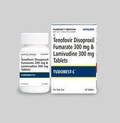Tudobest-L - Tenofovir Disoproxil Fumarate 300 Mg & Lamivudine 300 Mg