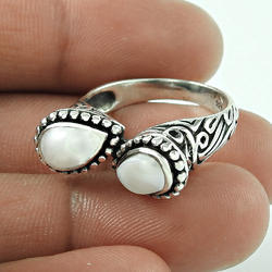 Amazing Pearl 925 Sterling Silver Ring