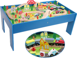 WOODEN ACTIVITY TABLE 0088N