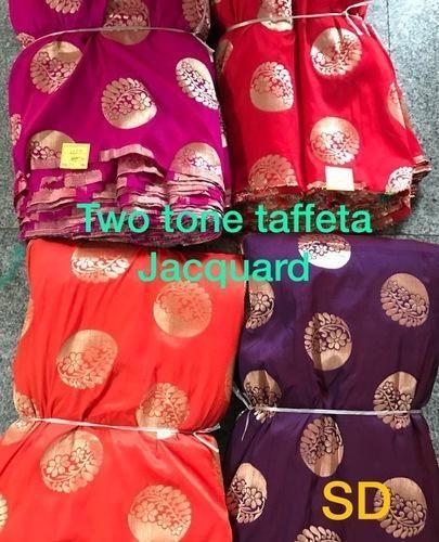 Taffeta Silk Jacquard- Two Tone Taffeta- Gola Fabric