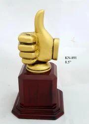Thumbs Shape Trophy