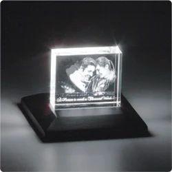 3D-1007 Custom Laser Engraved Crystal
