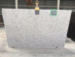 French White Granite Slab