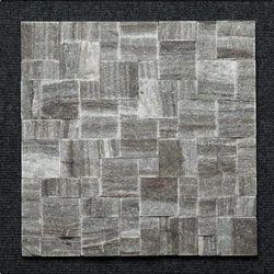 Black Granite Roman Pattern Wall Mosaic