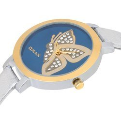 OMAX Analog Blue Dial Women's Watch - LS312