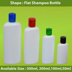 Flat Shampoo Bottle