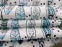 Fish Print Hand Block Printed Cotton Fabric