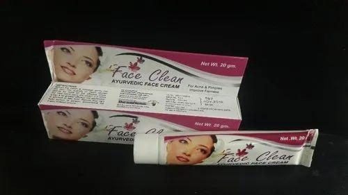 face clean cream