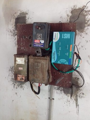 Cell Phone Motor Starter Irrigation Automation