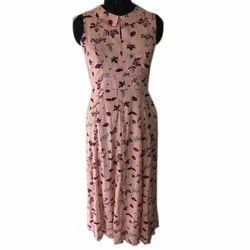 Rayon Western Dress