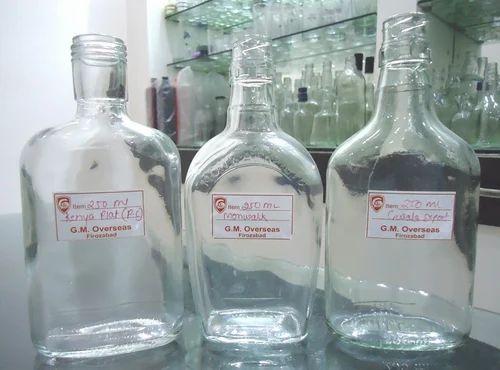 Empty Liquor Bottles - Whisky Glass Bottles Manufacturer from Firozabad